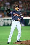 Atsushi Nomi (JPN), .MARCH 2, 2013 - WBC : .2013 World Baseball Classic .1st Round Pool A .between Japan 5-3 Brazil .at Yafuoku Dome, Fukuoka, Japan. .(Photo by YUTAKA/AFLO SPORT)