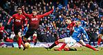 16.03.2019 Rangers v Kilmarnock: Eros Grezda has a shot