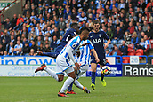 30th September 2017, The John Smiths Stadium, Huddersfield, England; EPL Premier League football, Huddersfield Town versus Tottenham Hotspur; Moussa Sissoko of Tottenham Hotspur FC scores in 90+1 minute to make it 4-0