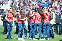 Spain national women team during Europe Championship match between Spain and Germany at Central in Madrid , Spain. March 12, 2018. (ALTERPHOTOS/Borja B.Hojas) /NortePhoto.com NORTEPOHOTOMEX