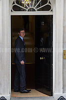 Greg Clark MP (Secretary of State for Business, Energy and Industrial Strategy).<br /> <br /> London, 12/06/2017. Today, Theresa May's reshuffled Cabinet met at 10 Downing Street after the General Election of the 8 June 2017. Philip Hammond MP - not present in the photos - was confirmed as Chancellor of the Exchequer. <br /> After 5 years of the Coalition Government (Conservatives &amp; Liberal Democrats) led by the Conservative Party leader David Cameron, and one year of David Cameron's Government (Who resigned after the Brexit victory at the EU Referendum held in 2016), British people voted in the following way: the Conservative Party gained 318 seats (42.4% - 13,667,213 votes &ndash; 12 seats less than 2015), Labour Party 262 seats (40,0% - 12,874,985 votes &ndash; 30 seats more then 2015); Scottish National Party, SNP 35 seats (3,0% - 977,569 votes &ndash; 21 seats less than 2015); Liberal Democrats 12 seats (7,4% - 2,371,772 votes &ndash; 4 seats more than 2015); Democratic Unionist Party 10 seats (0,9% - 292,316 votes &ndash; 2 seats more than 2015); Sinn Fein 7 seats (0,8% - 238,915 votes &ndash; 3 seats more than 2015); Plaid Cymru 4 seats (0,5% - 164,466 votes &ndash; 1 seat more than 2015); Green Party 1 seat (1,6% - 525,371votes &ndash; Same seat of 2015); UKIP 0 seat (1.8% - 593,852 votes); others 1 seat. <br /> The definitive turn out of the election was 68.7%, 2% higher than the 2015.<br /> <br /> For more info about the election result click here: http://bbc.in/2qVyNRd &amp; http://bit.ly/2s9ob51<br /> <br /> For more info about the Cabinet Ministers click here: https://goo.gl/wmRYRd