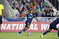 Cary, NC - Saturday April 22, 2017: Jessica McDonald during a regular season National Women's Soccer League (NWSL) match between the North Carolina Courage and the Portland Thorns FC at Sahlen's Stadium at WakeMed Soccer Park.