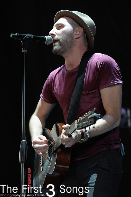 Mat Kearney performs at the PNC Pavilion at Riverbend in Cincinnatti, Ohio