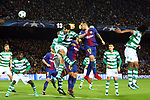 UEFA Champions League 2017/2018 - Matchday 6.<br /> FC Barcelona vs Sporting Clube de Portugal: 2-0.<br /> 1-0: Paco Alcacer.