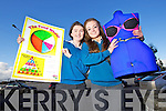 Ciara Kelliher The Spa, Tralee and Rachel Murphy, Ardfert who have projects in the Junior Dragons Den competition.