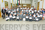 CBS the Green First Years were presented with End of year Awards and Certificates by Kieran Donaghy on Monday