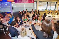 April 16, 2015, Netherlands, Den Bosch, Maaspoort, Fedcup Netherlands-Australia,  Official dinner<br /> Photo: Tennisimages/Henk Koster