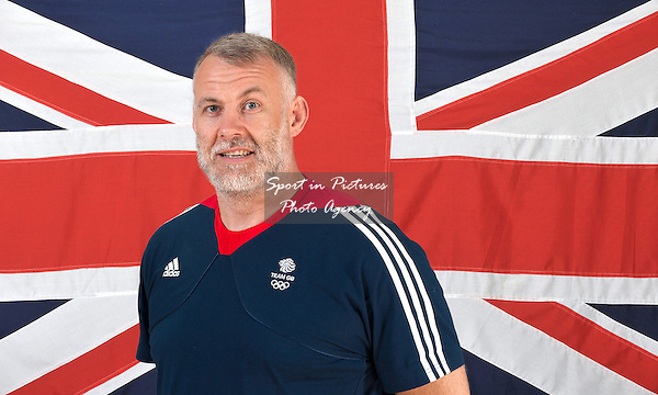 David Merlin. Team Physiotherapist. Tbilisi2015. European Youth Olympic Festival. Sheraton Heathrow Hotel, London, England. UK. 10/08/2014. MANDATORY Credit Garry Bowden/SIPPA - NO UNAUTHORISED USE - 07837 394578