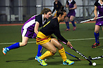 Action from the National Women's Association Under-18 Hockey Tournament match between Thames Valley and Southern at Twin Turfs in Clareville, New Zealand on Friday, 14 July 2017. Photo: Dave Lintott / lintottphoto.co.nz