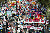 We Are All In This Together.  A Future that Works: TUC march and rally against austerity, London.
