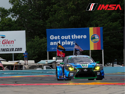 IMSA WeatherTech SportsCar Championship<br /> Sahlen's Six Hours of the Glen<br /> Watkins Glen International, Watkins Glen, NY USA<br /> Friday 30 June 2017<br /> 15, Lexus, Lexus RCF GT3, GTD, Robert Alon, Jack Hawksworth, Austin Cindric<br /> World Copyright: Michael L. Levitt/LAT Images
