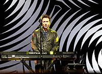 Jim McGorman with the Goo Goo Dolls at Fivepoint Amphitheatre in Irvine Ca. on June 16th, 2019