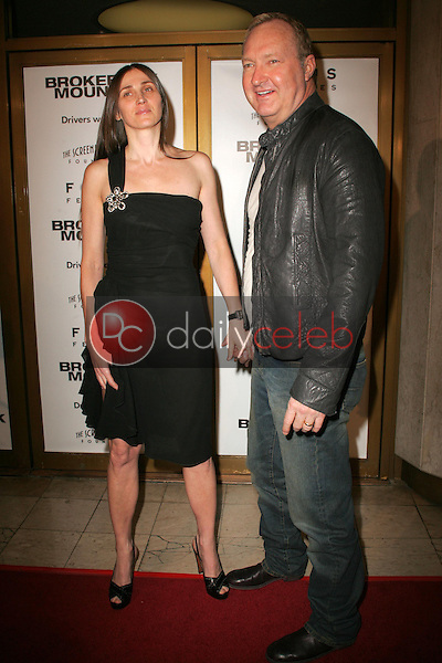 """Evi Quaid and Randy Quaid<br />at the premiere of """"Brokeback Mountain"""". Mann National Theatre, Westwood, CA. 11-29-05<br />Dave Edwards/DailyCeleb.com 818-249-4998"""