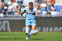 Ciro Immobile of Lazio in action during the Serie A 2018/2019 football match between SS Lazio and AC Chievo Verona at stadio Olimpico, Roma, April, 20, 2019 <br /> Photo Antonietta Baldassarre / Insidefoto