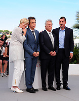 www.acepixs.com<br /> <br /> May 21 2017, Cannes<br /> <br /> (L-R) Actors Emma Thompson, actors Ben Stiller, Dustin Hoffman and Adam Sandler at 'The Meyerowitz Stories' photocall during the 70th annual Cannes Film Festival at Palais des Festivals on May 21, 2017 in Cannes, France. <br /> <br /> By Line: Famous/ACE Pictures<br /> <br /> <br /> ACE Pictures Inc<br /> Tel: 6467670430<br /> Email: info@acepixs.com<br /> www.acepixs.com