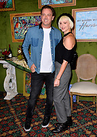 LOS ANGELES, CA. October 04, 2018: Donovan Leitch &amp; Libby Mintz  at the Los Angeles premiere for &quot;My Dinner With Herve&quot; at Paramount Studios.<br /> Picture: Paul Smith/Featureflash