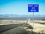 Nevada Highway 140: Next Gas, 179 Miles...