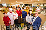 The new look Garveys supermarket in Tralee, from left Patricia Claffey, Jerry Hannafin, Jean Walsh, James Hannafin, Padraig O'Sullivan, Sandra Lynch and Tim Moynihan.