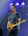 MIAMI BEACH, FL - FEBRUARY 25: Sting performs onstage during the '57th & 9th' tour at the Fillmore Miami Beach at the Jackie Gleason Theater on February 25, 2017 in Miami Beach, Florida.  ( Photo by Johnny Louis / jlnphotography.com )