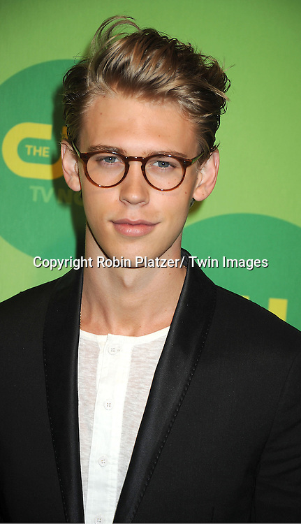"Austin Butler of ""The Carrie Diaries"" attends the CW Network's 2013 Upfront Presentation on May 16, 2013 at the London Hotel in New York City."