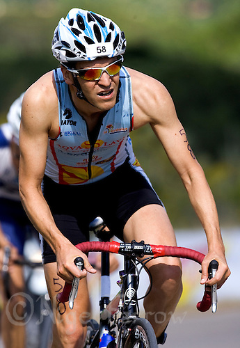 30 MAY 2009 - MADRID,ESP - David Callejon Gonzalez - Spanish Triathlon Championships (PHOTO (C) NIGEL FARROW)