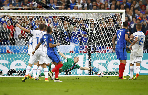 03.07.2016. St Denis, Paris, France. UEFA EURO 2016 quarter final match between France and Iceland at the Stade de France in Saint-Denis, France, 03 July 2016.<br />