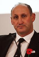 NZRU chairman Jock Hobbs. 2009 New Zealand Rugby Union AGM at NZRU Head Office, Wellington, New Zealand on Thursday, 23 April 2009. Photo: Dave Lintott / lintottphoto.co.nz