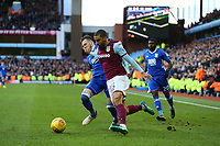 Glenn Whelan of Aston Villa <br /> Wins the ball. <br /> Photographer Leila Coker/CameraSport<br /> <br /> The EFL Sky Bet Championship - Aston Villa v Birmingham City - Sunday 11th February 2018 - Villa Park - Birmingham<br /> <br /> World Copyright &copy; 2018 CameraSport. All rights reserved. 43 Linden Ave. Countesthorpe. Leicester. England. LE8 5PG - Tel: +44 (0) 116 277 4147 - admin@camerasport.com - www.camerasport.com