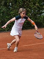2013,August 24,Netherlands, Amstelveen,  TV de Kegel, Tennis, NVK 2013, National Veterans Tennis Championships,   Nora Blom<br /> Photo: Henk Koster