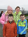 Lorraine and Ciaran Boylan, Christina and Cormac Callan who took part in the Operation Transformation walk in Dunleer. Photo:Colin Bell/pressphotos.ie
