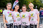 Aoife O'Grady Tralee, Alison O'Sullivan Lixnaw, Catherine Lawlor and Fiona Clifford Tralee keeping fit at the Killarney Women's mini marathon on Saturday