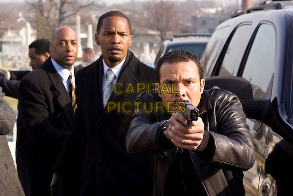 BRIAN DISTANCE, JAMIE FOXX & MICHAEL IRBY.in Law Abiding Citizen.*Filmstill - Editorial Use Only*.CAP/FB.Supplied by Capital Pictures.