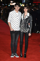 Matt Richardson &amp; Sam Rollinson at the European premiere for &quot;Pride and Prejudice and Zombies&quot; at the Vue West End, Leicester Square.<br /> February 1, 2016  London, UK<br /> Picture: Steve Vas / Featureflash
