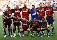 RSL Starting Lineup in the San Jose Earthquakes @ Real Salt Lake 1-1 draw at Rio Tinto Stadium in Sandy, Utah on July 03, 2009