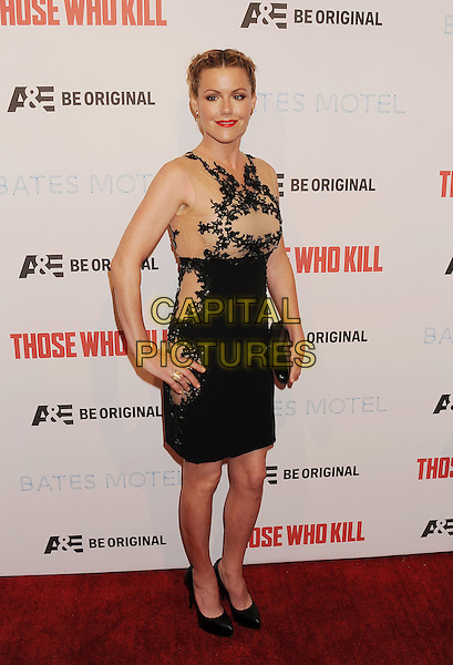LOS ANGELES, CA- FEBRUARY 26: Actress Kathleen Robertson arrives at the premiere party for A&amp;E's Season 2 of 'Bates Motel' and the series premiere of 'Those Who Kill' at Warwick on February 26, 2014 in Los Angeles, California.<br /> CAP/ROT/TM<br /> &copy;Tony Michaels/Roth Stock/Capital Pictures