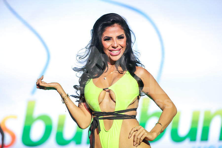 CIDADE DO MÉXICO, MÉXICO, 30.09.2019 - MISS-BUMBUM - Monse Miranda durante a final do concurso Miss Bumbum World na  ForoTotal Play na Cidade do México na capital mexicana nesta segunda-feira, 30.  (Foto: William Volcov/Brazil Photo Press)