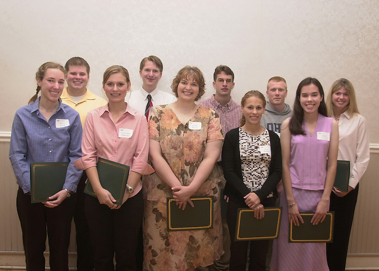 Biological Sciences Honors Luncheon: Photos: Krisanne Johnson