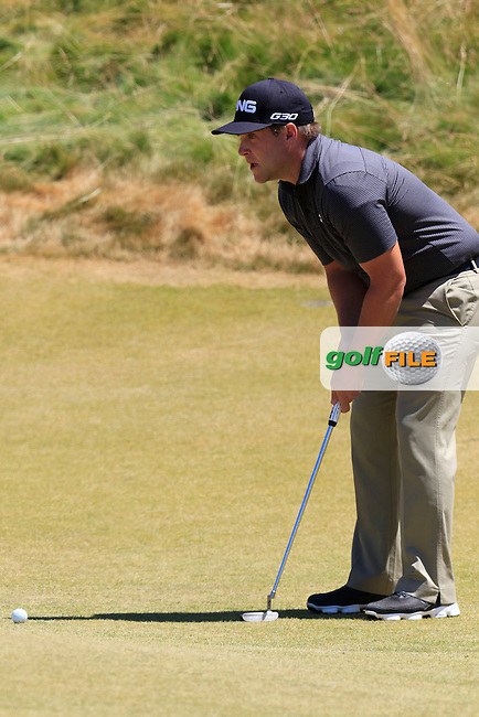 Daniel Summerhays (USA) on the 7th green during Friday's Round 2 of the 2015 U.S. Open 115th National Championship held at Chambers Bay, Seattle, Washington, USA. 6/19/2015.<br /> Picture: Golffile | Eoin Clarke<br /> <br /> <br /> <br /> <br /> All photo usage must carry mandatory copyright credit (&copy; Golffile | Eoin Clarke)