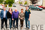 Historical Walk : Pictured in Moyvane village to announce the upcoming Historical Walk were Gabriel Fitzmaurice, Aine Cronin, Jerry Brosnan, Eileen Cronin & Alan Groarke.
