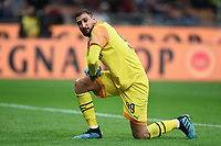 Gianluigi Donnarumma of AC Milan dejection <br /> Milano 29/09/2019 Stadio Giuseppe Meazza <br /> Football Serie A 2019/2020 <br /> AC Milan - ACF Fiorentina   <br /> Photo Image Sport / Insidefoto