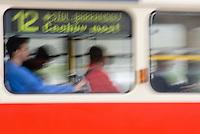 Europe/République Tchèque/Prague:Tramway dans la ville