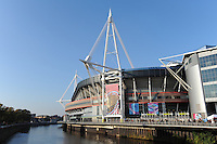 General view of the Millennium Stadium before Match 23 of the Rugby World Cup 2015 between New Zealand and Georgia - 02/10/2015 - Millennium Stadium, Cardiff<br /> Mandatory Credit: Rob Munro/Stewart Communications
