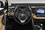 Car pictures of steering wheel view of a 2016 Toyota RAV4 Limited 5 Door SUV Steering Wheel