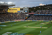 8th February 2019, Eden Park, Auckland, New Zealand;  General view. New Zealand v India in the Twenty20 International cricket, 2nd T20.