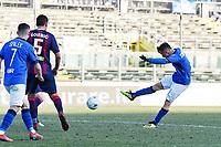 gol Alfredo Donnarumma<br /> Brescia 23-02-2019 <br /> Football Serie B 2018/2019 Brescia - Crotone <br /> Foto Image Sport / Insidefoto