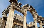 Turkey, Ephesus (Ephes). The archeological site