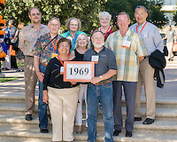 Alumni Reunion Weekend, class group photos - class of 1969