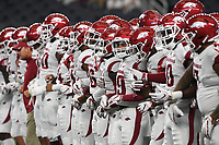 NWA Democrat-Gazette/J.T. WAMPLER Image from Arkansas' 17-24 loss to Texas A&M Saturday Sept. 29, 2018 at AT&T Stadium in Arlington.