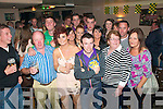 21st party: James O'Flaherty celebrating his 21st Birthday party at the Railway Bar in Lixnaw on Saturday night.