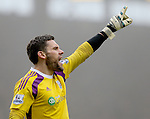 Ben Foster of West Bromwich Albion - Barclays Premier League - Burnley vs West Bromwich Albion - Turf Moor Stadium  - Burnley - England - 8th February 2015 - Picture Simon Bellis/Sportimage